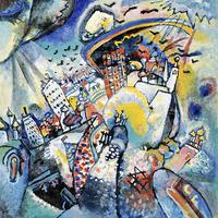 Reprodukcje obrazów Red Square in Moscow - Wassily Kandinsky Rozmiar - 50x50