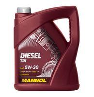 MANNOL Diesel TDI 5W-30 - DPF,FAP 5L + GRATIS