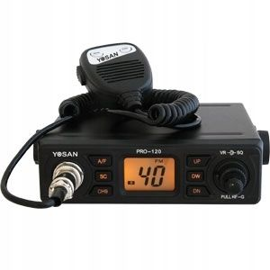 CB radio yosan Pro120 Am/Fm