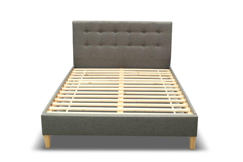 Łóżko tapicerowane DAWID 160X200 + STELAŻ+MATERAC zdjęcie 4