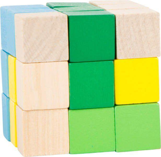 Kolorowy zestaw konstrukcyjny w kształcie kostki zdjęcie 1