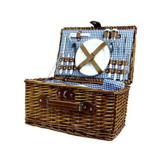 Kosz Koszyk Piknikowy z wikliny 4 osoby TERMOTORBA
