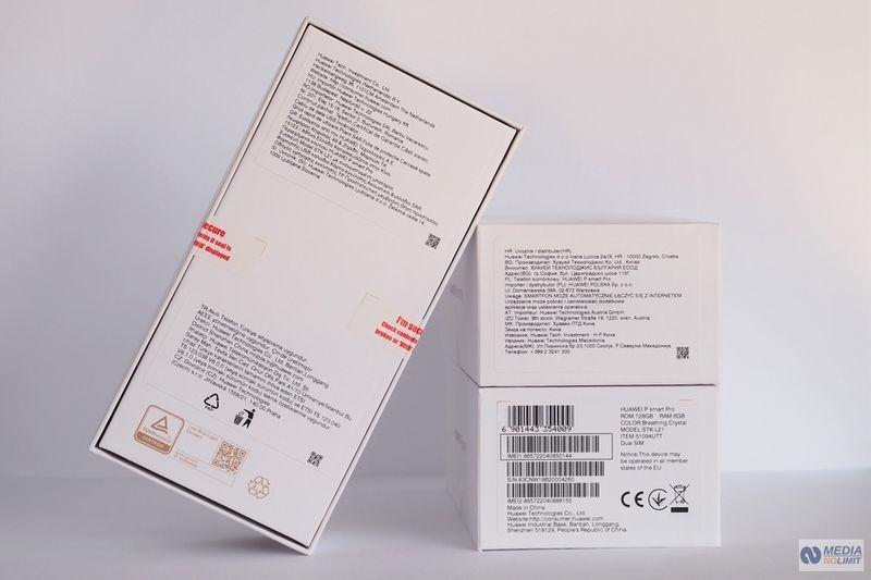 Huawei P smart Pro DS Opal Polska Dystrybucja FV VAT 23% Gw 24M zdjęcie 7