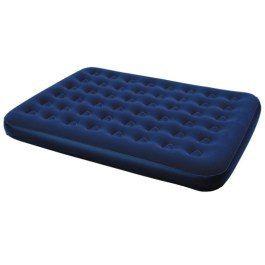 Łóżko materac dmuchany Niebieski 203x152 cm dwuosobowy swe