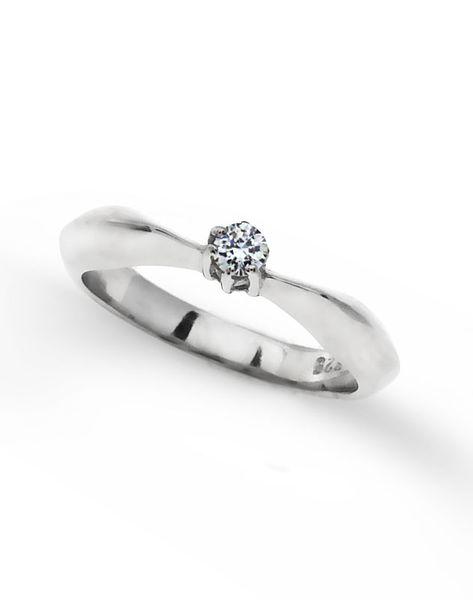 pierścionek rozmiar: 15 ,srebro 925 i cyrkonia zdjęcie 2