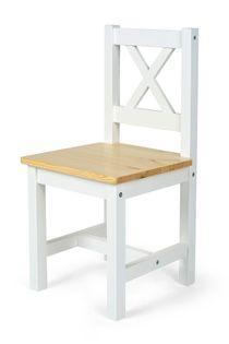 2 krzesełka White/Pine