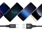 BASEUS KABEL USB-C TYP C QUICK CHARGE 3.0 LED 2M zdjęcie 6