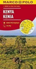 Mapa Drogowa Marco Polo. Kenia 1:1 000 000 w.2017