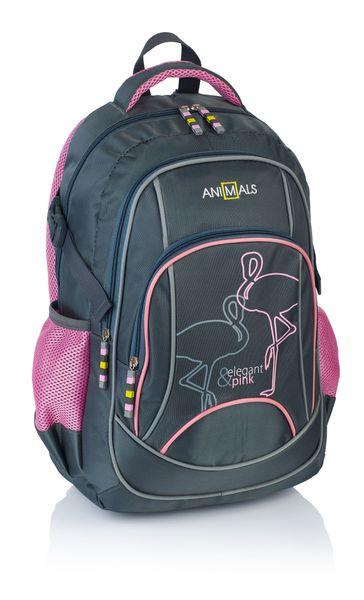 Animals Plecak szkolny młodzieżowy Elegant&Pink AN-30 zdjęcie 1