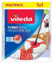 VILEDA Turbo Refill Microfibre 2w1 2szt - mop obrotowy