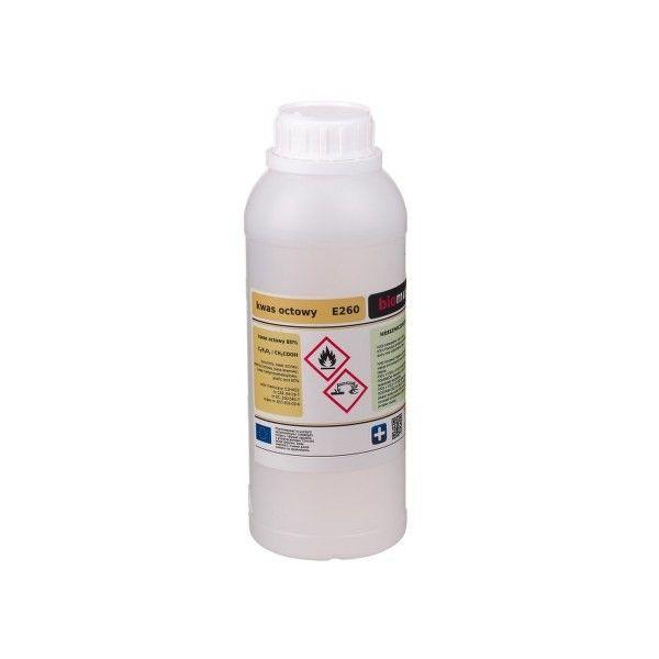 Esencja octowa czysta E260 - Ocet r-r 80% 1L zdjęcie 1