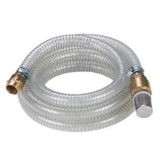 Wąż do pompy z mosiężnymi łącznikami, 4m, 4173630