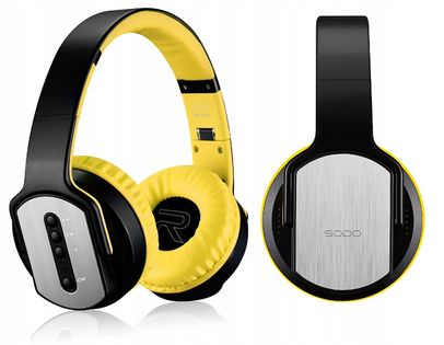 Słuchawki bezprzewodowe Bluetooth NFC radio microSD MODO MH2 G215
