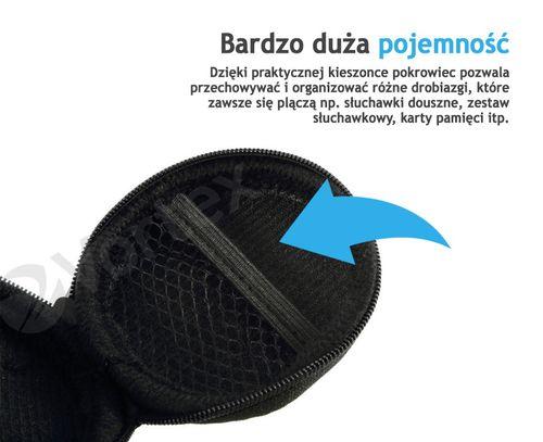 pokrowiec etui na słuchawki douszne case pudełko na drobne przedmioty na Arena.pl