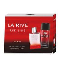 La Rive Red Line For Man Zestaw Woda Toaletowa Spray 90Ml + Dezodorant Spray 150Ml