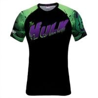 Poundout - Rashguard short Marvel Hulk S