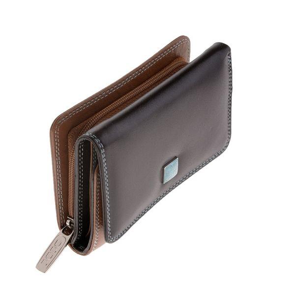 39573d9df1611 Skórzany mały portfel damski DuDu®, 534-1260 ciemny brąz • Arena.pl