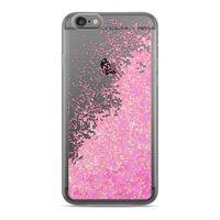ETUI Nakładka Płynny Brokat Simple Diamenty  LG K4 2017 Różowy