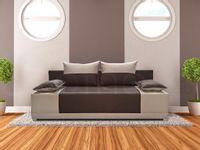 Tania i nowoczesna kanapa do pokoju VERA tapczan do spania, pojemnik