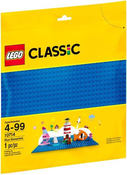 LEGO CLASSIC 10714 Niebieska Płytka Konstrukcyjna zdjęcie 1