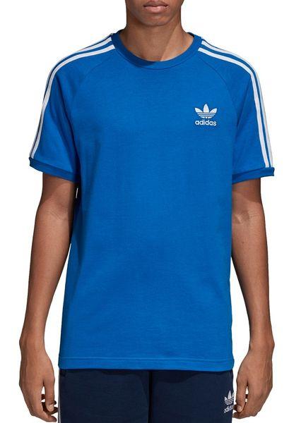 Koszulka adidas 3 Stripes Tee niebieska DH5805 L zdjęcie 2