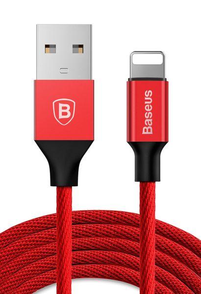 BASEUS USB lightning Długi kabel iPhone iPad 300cm - Czerwony zdjęcie 2