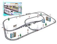 Ogromna kolejka elektryczna Pendolino Lokomotywa Most Tory 914cm Y113