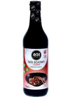 Sos sojowy ciemny 500ml - Asia Kitchen