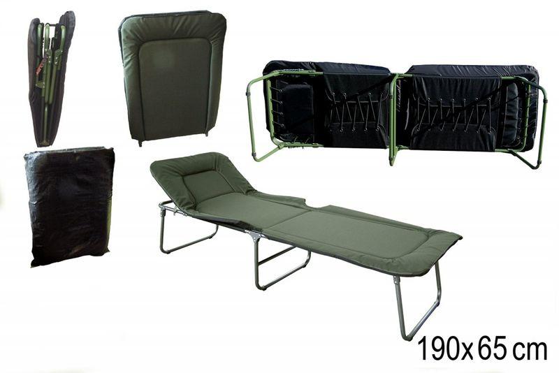 łóżko Poloweskładane Z Materacem Mocne L 53