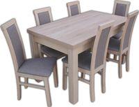 Solidny Stół i 6 krzeseł  dużo kolorów i wzorów ZAPRASZAMY :)