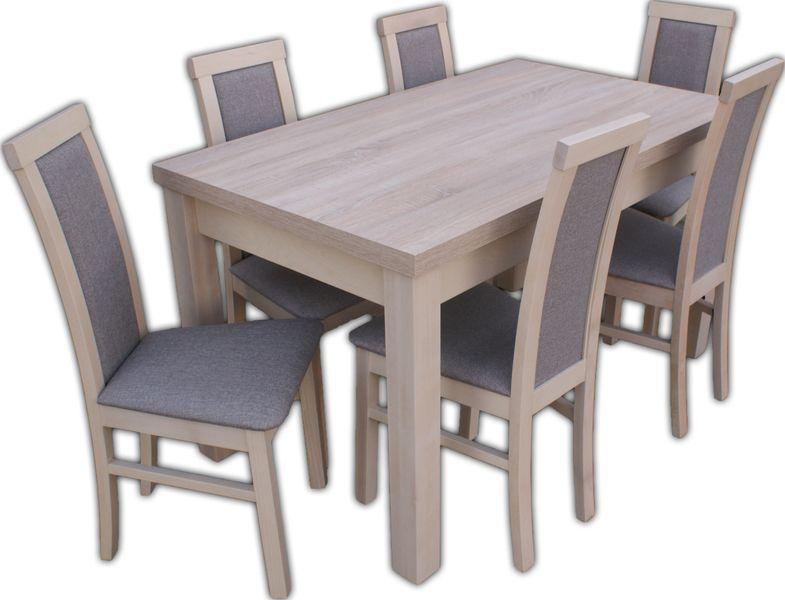 Solidny Stół i 6 krzeseł  dużo kolorów i wzorów ZAPRASZAMY :) zdjęcie 1