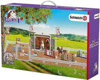 Figurki Schleich 42338 Zestaw Zawody Jeździeckie