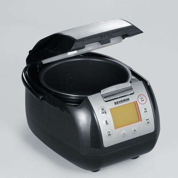 Urządzenie do gotowania SEVERIN 2448 WIELOFUNKCYJNE ~ wolnowar, urządzenie do gotowania ryżu, parowar, garnek zdjęcie 3