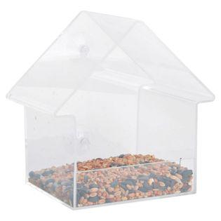 Esschert Design Karmnik w kształcie domku, 15 x 10 x 15,3 cm, FB370