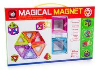Kolorowe klocki magnetyczne MAGICAL MAGNET 20SZT  E1