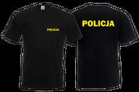 Koszulka męska POLICJA roz S