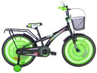 Rower dziecięcy 20 Racing Sport czarno-zielony