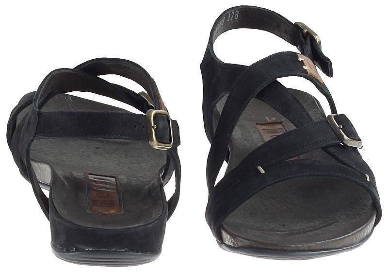 Czarne Sandały damskie Nessi 49804 buty R.37