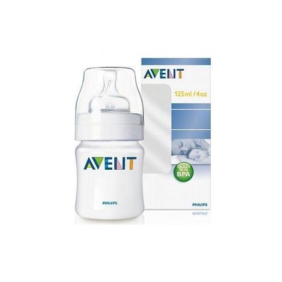 Avent ANTYKOLKOWA BUTELKA biała 0% BPA 125 ml zdjęcie 1