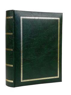 ALBUM, albumy na zdjęcia szyty 300 zdjęć 10x15 cm opis CL zielony