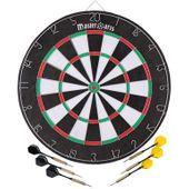 Tarcza do gry w dart dwustronna 45cm + rzutki Master Dart