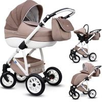 Wózki dziecięce ANGELO 3w1 z Fotelikiem