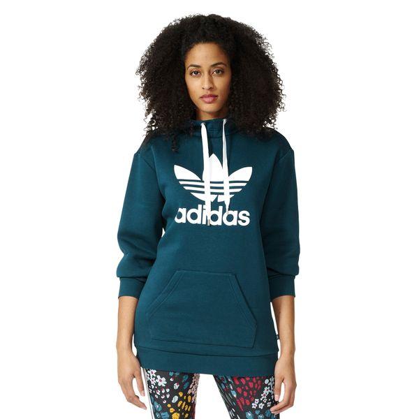 Bluza Adidas Originals Long Hoodie damska dresowa sportowa z kapturem 32