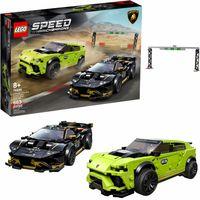 LEGO Speed Lamborghini Urus ST-X i Huracán 76899