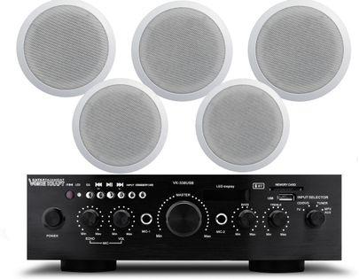 NAGŁOŚNIENIE SUFITOWE BLUETOOTH RADIO MP3 PILOT