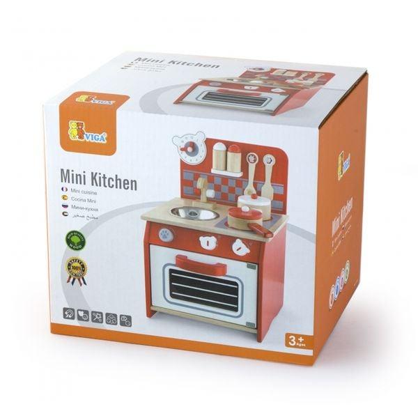 Viga Toys Kuchnia Drewniana Dla Dzieci + Akcesoria zdjęcie 2