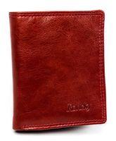 Porządny skórzany portfel etui na karty i dokumenty Rovicky® RFID