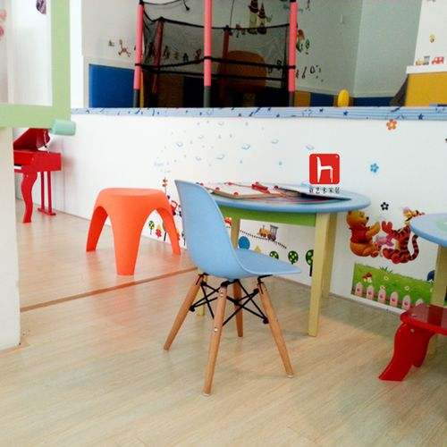 Krzesło NIEBIESKIE dziecięce nowoczesne inspirowane dsw dsr 071-1 na Arena.pl