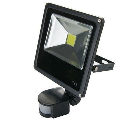 Halogen LED SMD 20W z czujnikiem ruchu, zmierzchu, lampa zdjęcie 3