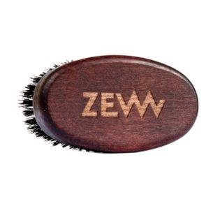 Kompaktowa Szczotka / Kartacz do brody z naturalnym włosiem z dzika marki Zew